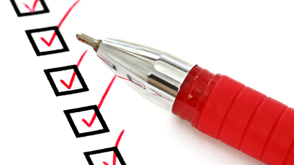 Red Pen and Checklist